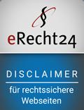 e-recht24 Haftungsausschluss