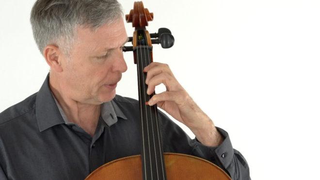 Die erste Lage am Cello